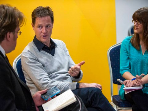 Nick Clegg on green MPs, the tuition fee furore… and knowing his football team