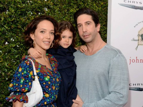 Friends star David Schwimmer shows off his family and adorable daughter Cleo (does he ever age?)