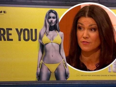 Susanna Reid challenges Protein World boss Richard Staveley over 'beach body' ad