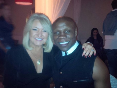Boxer Chris Eubank secretly marries his manager Claire Geary