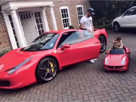 Southampton defender Ryan Bertrand buys matching Ferraris for himself and his young daughter