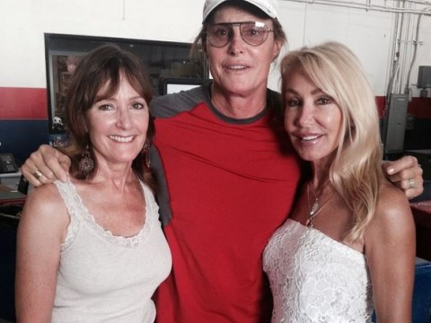 Kris Jenner is notably missing from Bruce Jenner's group Instagram with ex-wives Chrystie Scott and Linda Thompson