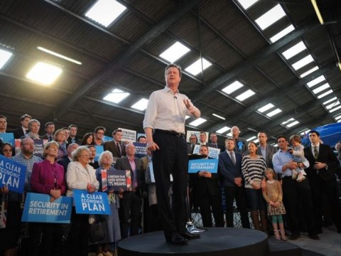 It seems a lot of people turned up for David Cameron's rally – or did they?
