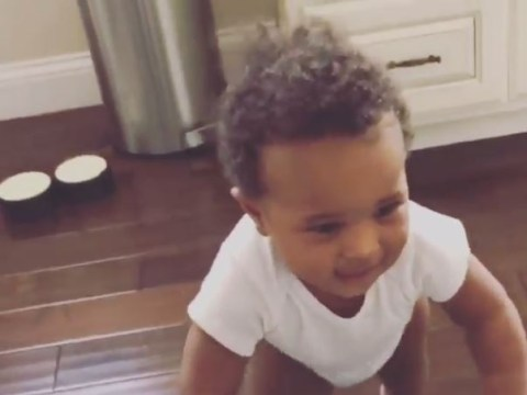 Too cute! Ciara's baby son dancing to her new single