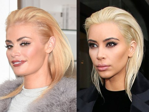 Has Kim Kardashian landed a guest cameo in TOWIE? Nope, it's just Chloe Sims stealing her look
