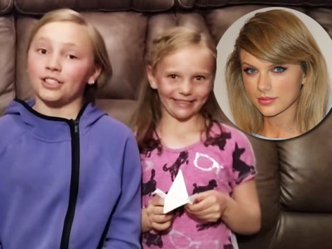 These adorable sisters made 1989 paper cranes so Taylor Swift's mum can beat cancer with a wish