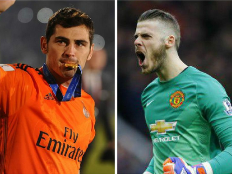 Manchester United handed David de Gea transfer boost as Iker Casillas confirms he'll stay at Real Madrid