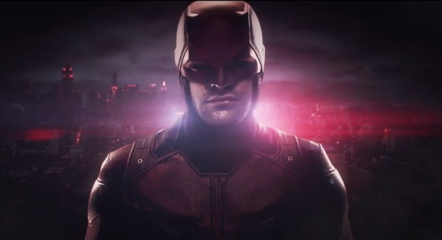 Devilishly good: The hotly anticipated second season of Daredevil streams on Netflix from March 18 (Picture: Netflix)