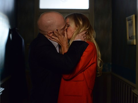 EastEnders spoilers: Denise Van Outen gets it on with Jake Wood in explosive first scenes