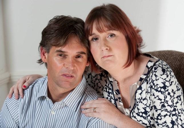 Coral Jones and Paul Jones, parents of murderd school girl April