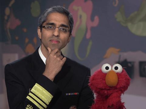 Anti-vaccine conspiracy theorists meet their match with Elmo