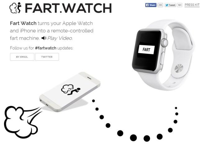 Fart Watch, app