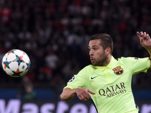 Manchester City 'linked with a transfer move for £64m-rated Barcelona defender Jordi Alba'