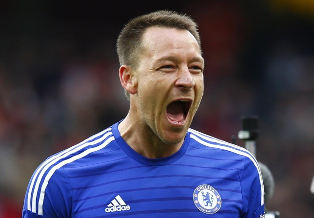 Football: Chelsea's John Terry celebrates at the end Eddie Keogh/Reuters
