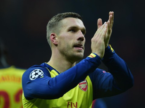 Arsenal loanee Lukas Podolski wants return from Inter Milan, claims Roberto Mancini