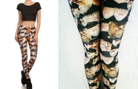 For the Game Of Thrones fan who has everything… George R.R Martin leggings