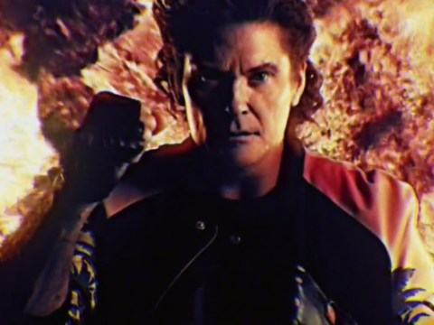 David Hasselhoff's new music video is quite possibly the craziest thing ever