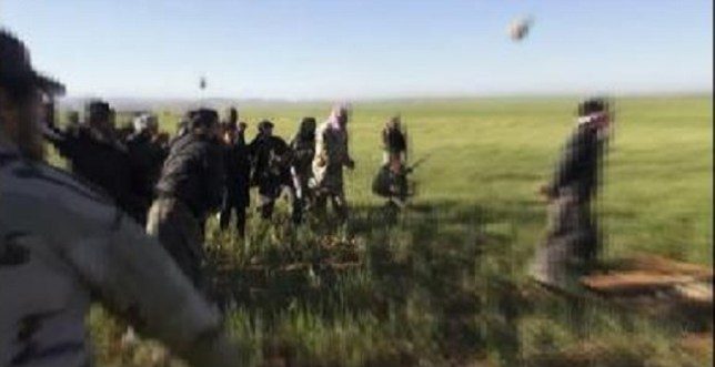 ISIS militants blindfolded a man and then stoned him to death, East of the city of Homs in Syria (Picture Gay Star News)