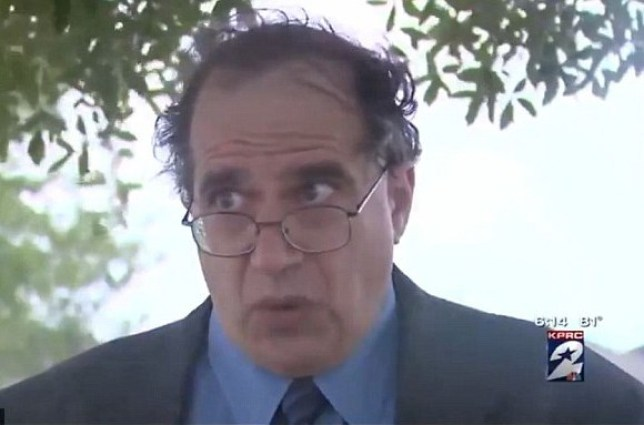Professor Irwin Horowitz was angry with his students. Very angry.  (Picture: KPRC)