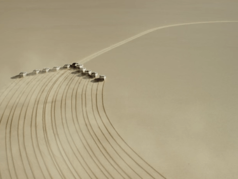 Hyundai teams up with girl, 13, to write giant message in the desert to her astronaut father