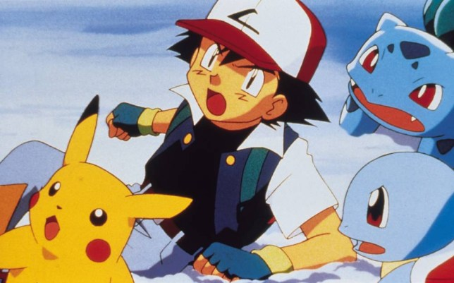 Quality: 2nd Generation. PIKACHU & ASH Film Title: Pokemon - The Movie 2000. For further information: please contact The Front Row Press Office on 020 7551 5966.
