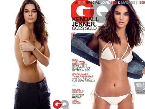 Kendall Jenner goes completely topless in most revealing cover shoot yet for GQ magazine