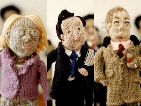 These knitted politicians are far more loveable than the real ones