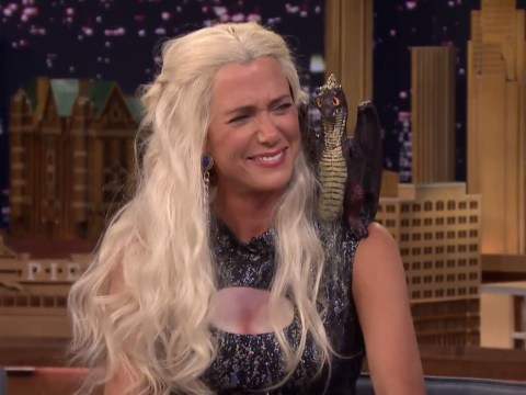 Kristen Wiig channels Game Of Thrones' Khaleesi in brilliantly barmy Jimmy Fallon interview