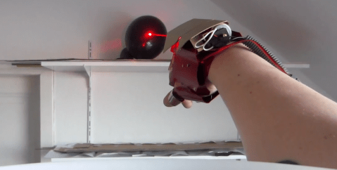 Man makes his own Iron Man glove complete with REAL lasers