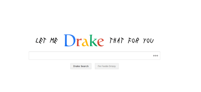 Let me drake that for you, Drake themed search engine