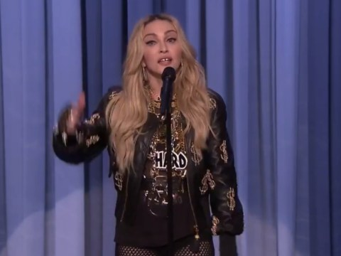 Madonna does stand-up, jokes about paedophilia and it all gets very awkward
