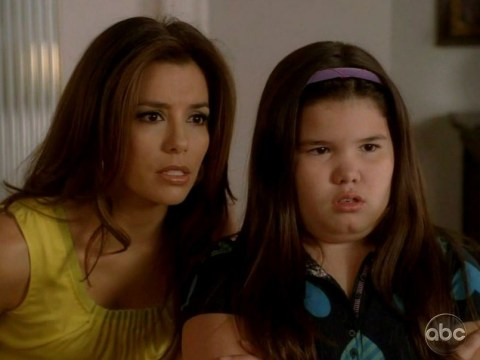 Who knew! Juanita Solis from Desperate Housewives is Demi Lovato's sister