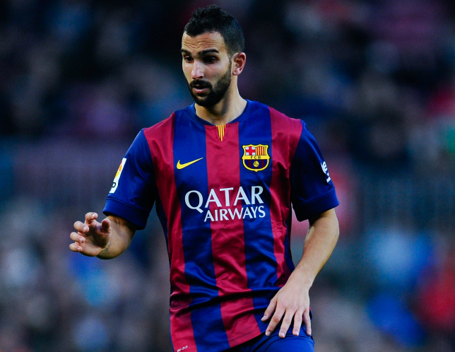 Liverpool clear to complete Martin Montoya transfer as Dani Alves 'extends Barcelona contract'