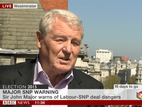 Paddy Ashdown calls the Tories 'b******s' four times during one short BBC broadcast