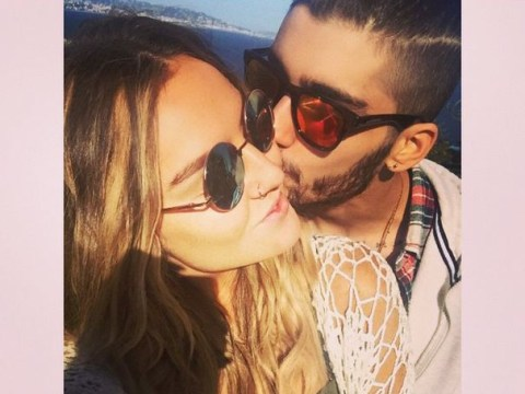 Zayn Malik and Perrie Edwards posted some woe-free selfies for the haters