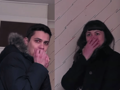 Haunted house prank scares the c**p out of London estate agents