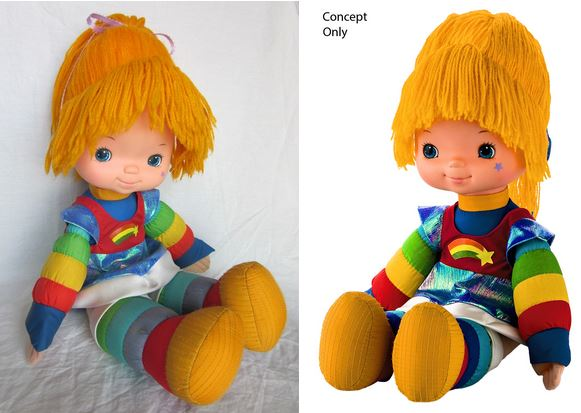 Oh my Star Sprinkles – a new retro style Rainbow Brite doll is on the way