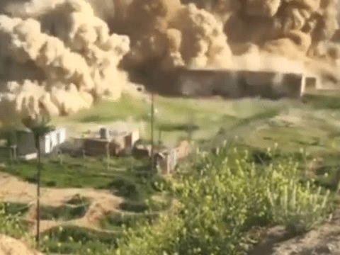 Isis destroy ancient city of Nimrud