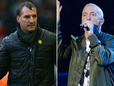 'F*** the Champions League!' Liverpool boss Brendan Rodgers 'responds to haters' with Eminem battle track