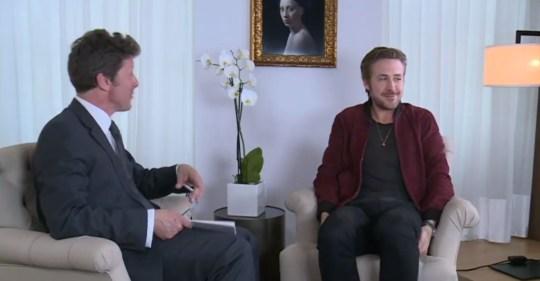 Ryan Gosling, BBC Breakfast, Charlie Staydt