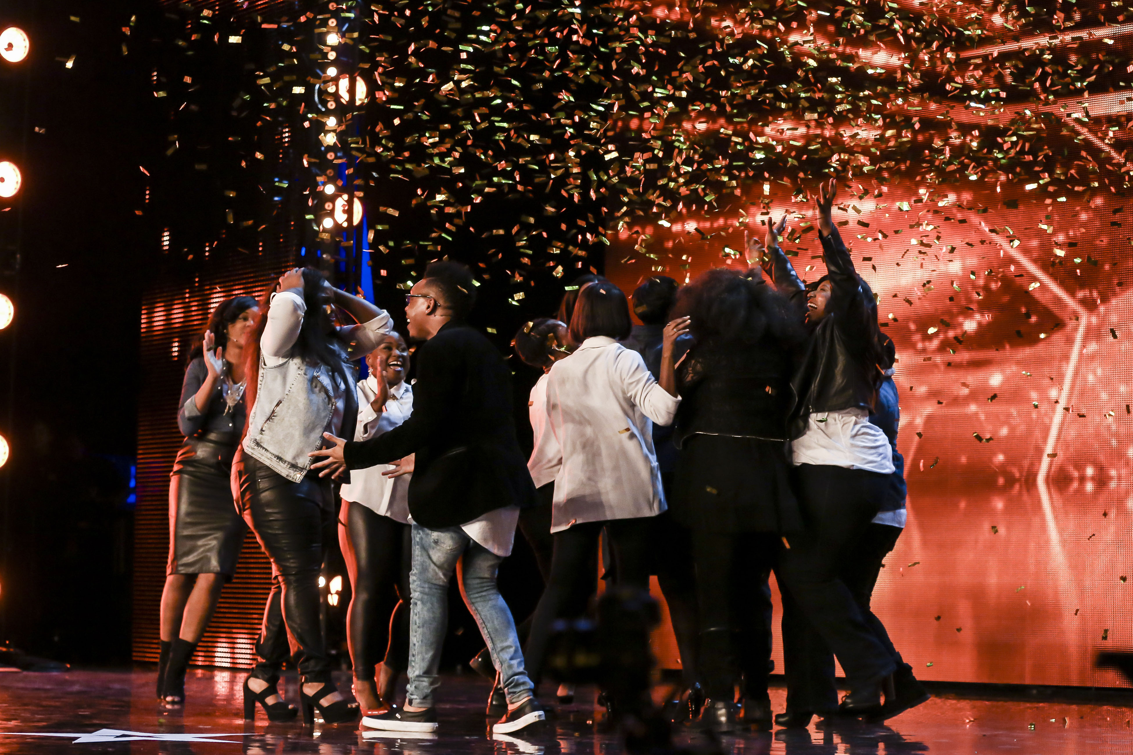 Revelation Avenue, Britain's Got Talent, Golden buzzer