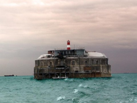 The UK has a new private island… in the middle of the Solent