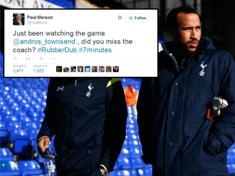 Arsenal legend Paul Merson wins Andros Townsend Twitter war with epic comeback
