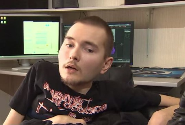 Valery Spiridonov has volunteered to become the first person to undergo a head transplant (Pic: YouTube)