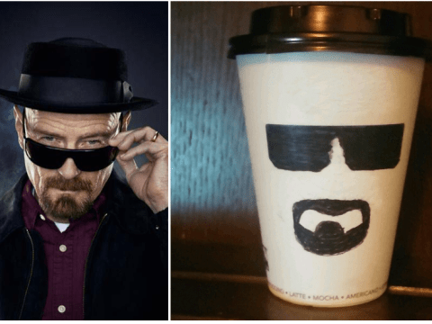 Genius 'transforms' Greggs coffee cup into Walter White and sells it on Ebay