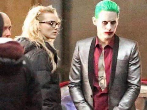 Jared Leto's Joker confronts Harley Quinn in new Suicide Squad on set photos