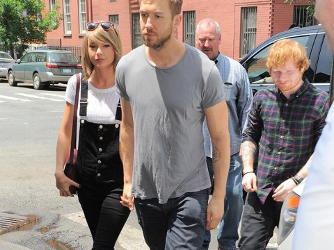 Ed Sheeran gatecrashed Taylor Swift and Calvin Harris' date and it was kind of awkward