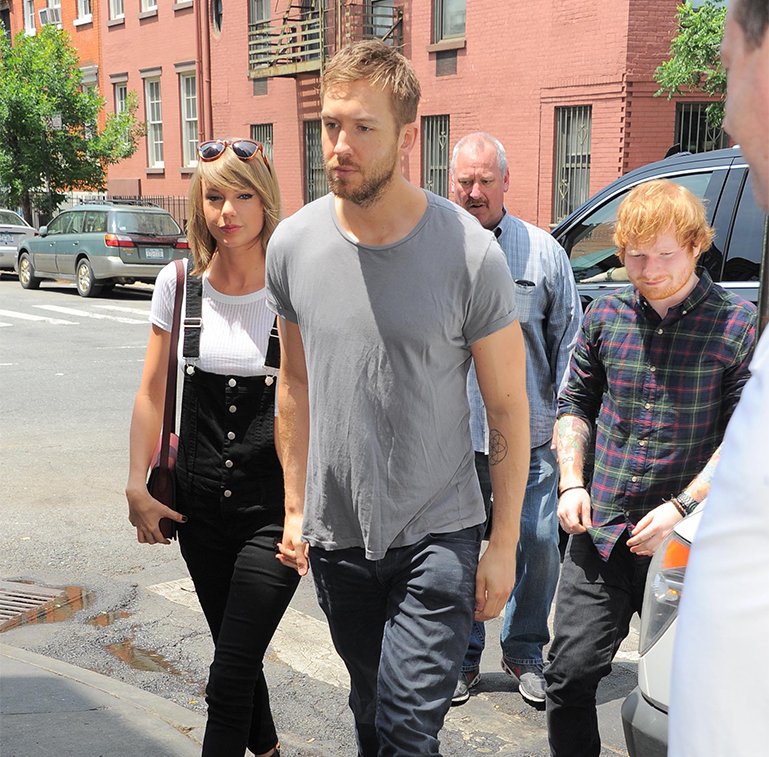 Taylor Swift And Calvin Harris Went On A Date And Ed Sheeran Gatecrashed Awkward Metro News