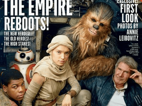Star Wars: The Force Awakens cast get their own Vanity Fair cover