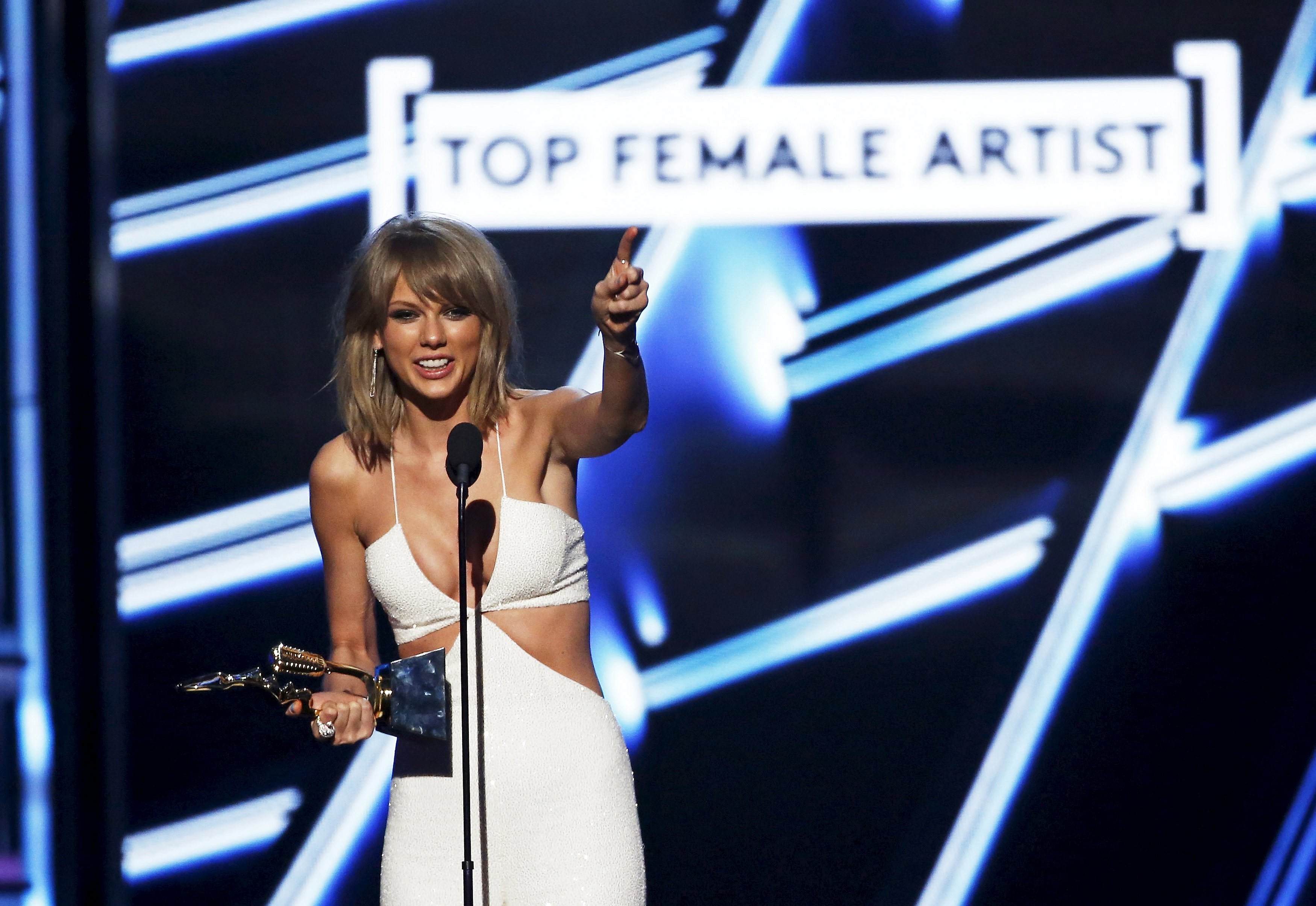 Taylor Swift is the youngest woman to ever be included in the list (Picture: REUTERS)